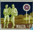 Postage Stamps - Malta - Music