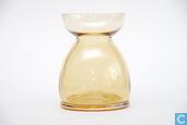 Glas / Kristall - Leerdam - Lisse Bollenglas amber