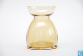 Glas / kristal - Leerdam - Lisse Bollenglas amber
