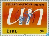 Postage Stamps - Ireland - UNO 50 years