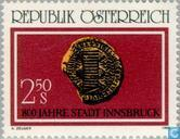 Postage Stamps - Austria [AUT] - Innsbruck 800 years