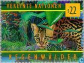 Timbres-poste - Nations unies - Vienne - protection Rainforest