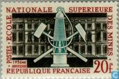 Postage Stamps - France [FRA] - French mining school 175 years