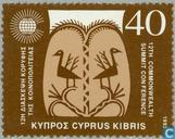 Postage Stamps - Cyprus [CYP] - Commonwealth Summit