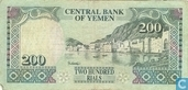 Billets de banque - Central Bank of Yemen - Yémen 200 Rials