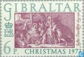 Postzegels - Gibraltar - Bijbelse voorstellingen