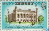 Postage Stamps - Jersey - St. Victoria College's 125 years