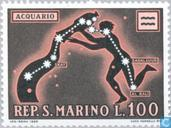 Timbres-poste - Saint-Marin - Astrologie