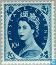 Postage Stamps - Great Britain [GBR] - Queen Elizabeth II (Wilding)