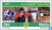 Postage Stamps - Malta - Olympic Games