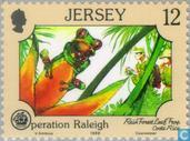 Briefmarken - Jersey - Operation Raleigh