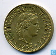 Monnaies - Suisse - Suisse 5 rappen 1988