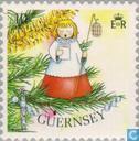 Timbres-poste - Guernesey - Arbre de Noël Décoration