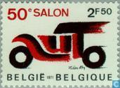 Postage Stamps - Belgium [BEL] - Automobile Exhibition in Brussels