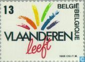Timbres-poste - Belgique [BEL] - La Flandre vit