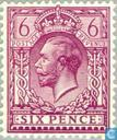 Postage Stamps - Great Britain [GBR] - George V - Watermark block letters