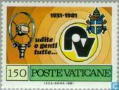 Postzegels - Vaticaanstad - Radio Vaticaan