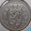 Monnaies - Pays-Bas - Pays Bas 1 gulden 1954