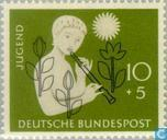 Postage Stamps - Germany, Federal Republic [DEU] - Girl