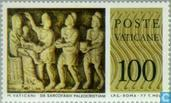 Timbres-poste - Vatican - Sarcophages