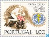 Postzegels - Portugal [PRT] - 20 jaar WHO