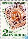 Postage Stamps - Sweden [SWE] - Stockholmia 86 (IV)