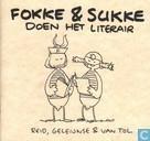 Comic Books - Fokke & Sukke - Doen het literair