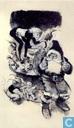 Ansichtkaarten - Follet, René - Ikar kerstkaart