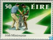 Briefmarken - Irland - Missionare
