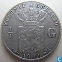 Curacao ¼ gulden 1900