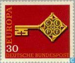 Timbres-poste - Allemagne, République fédérale [DEU] - Europe – Clé