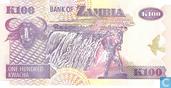 Billets de banque - Zambie - 1992-2011 Issue - Zambie 100 Kwacha 2005