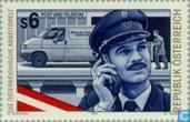 Postage Stamps - Austria [AUT] - Employees