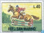 Postzegels - San Marino - Paardensport