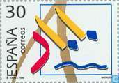Postage Stamps - Spain [ESP] - Olympics Madrid