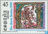 Postage Stamps - Spain [ESP] - Compostella, Saint James