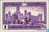 Timbres-poste - Espagne [ESP] - 1 blanc