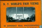 N.Y. World's Fair Views 18 different real photographs