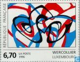 Postage Stamps - France [FRA] - Drawing Lucien Wercollier