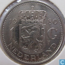 Coins - the Netherlands - Netherlands 1 gulden 1980