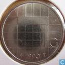 Coins - the Netherlands - Netherlands 1 gulden 1990