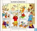 Postage Stamps - Guernsey - Rupert & Friends