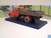 """Voitures miniatures - Atlas - De rode vrachtwagen uit """"Kuifje en de zwarte rotsen"""""""