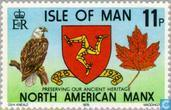 Postage Stamps - Man - Manx Association 1928-1978