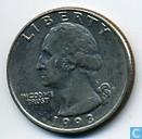 Münzen - Vereinigte Staaten - US ¼ Dollar 1993