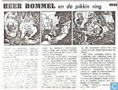 Comic Books - Bumble and Tom Puss - Tom Poes en de pikkinring