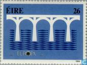 Postage Stamps - Ireland - Europe – Bridge