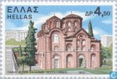 Postzegels - Griekenland - Kloosters en kerken