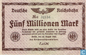 Berlin 5 Miljoen Mark 1923
