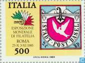 Postage Stamps - Italy [ITA] - Stamp exhibition ITALIA ' 85